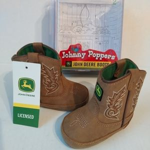 NWT Johnny Poppers John Deere Boots